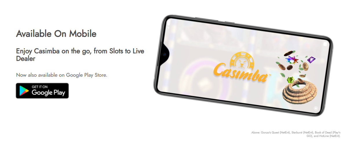 casimba mobile apps
