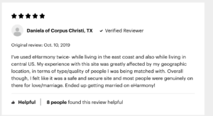 eharmony is a dating site that aims to help its users find a serious relationship. Our review of the pros and cons, and price of this app.