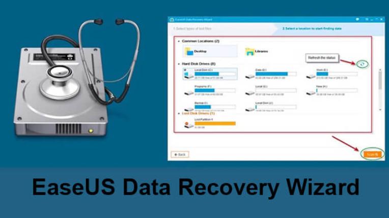 Bật mí 7 tính năng nổi bật của Easeus Data Recovery Wizard Full Crack