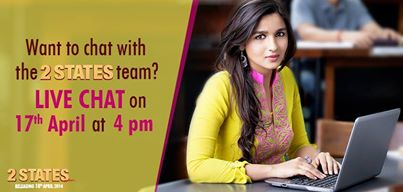 2 states live chat