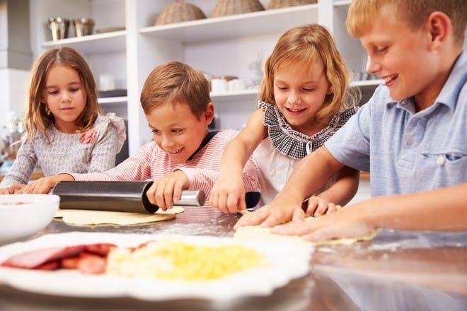 Doing cooking as an rainy days activities for teens
