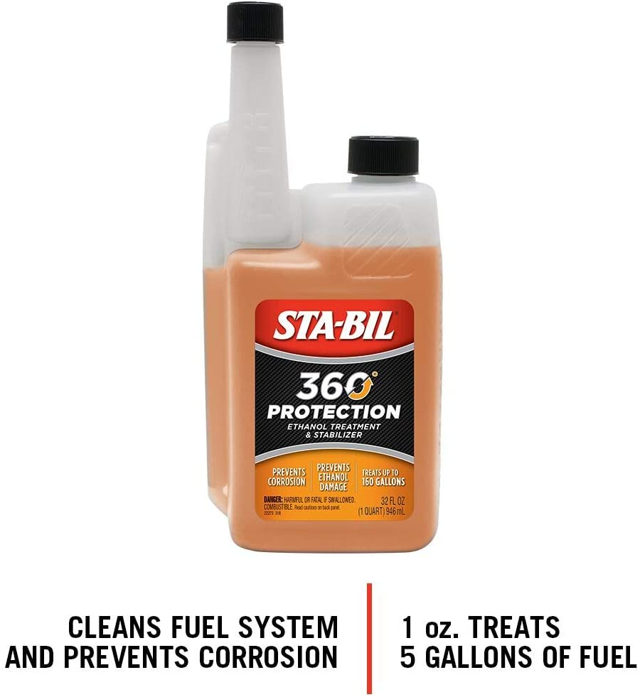 A typical fuel conditioner is shown.