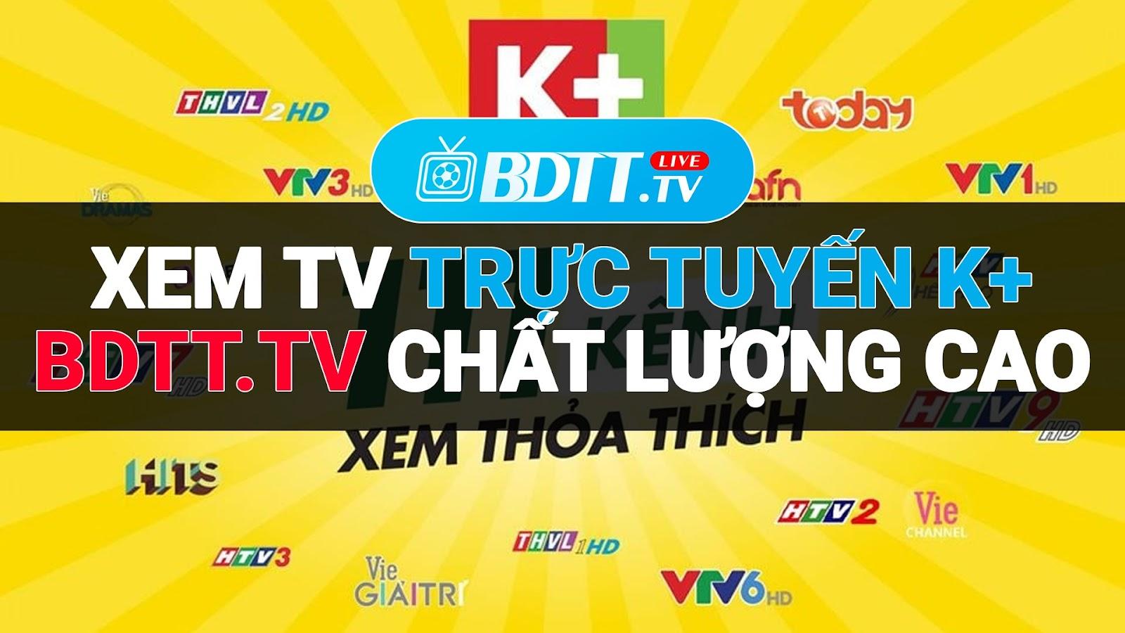 Nếu các bạn chưa chọn được kênh trực tiếp bóng đá nào ưng ý, thì hãy truy cập vào tham khảo ngay kênh BDTT.tv - Xem trực tiếp bóng đá miễn phí, được hình thành dựa trên sở thích và nhu cầu xem TV bóng đá trực tuyến tốt nhất hiện nay.