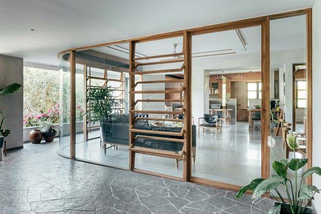 Tràn đầy hứng khởi làm việc với 3 mẫu thiết kế nội thất văn phòng xanh
