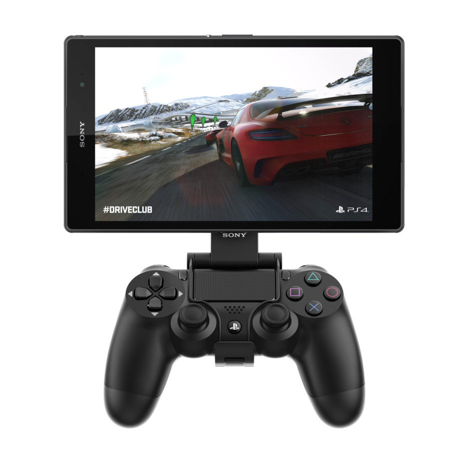 PS4 Remote Play on the Xperia Z3 Tablet Compact. Photo: Sony