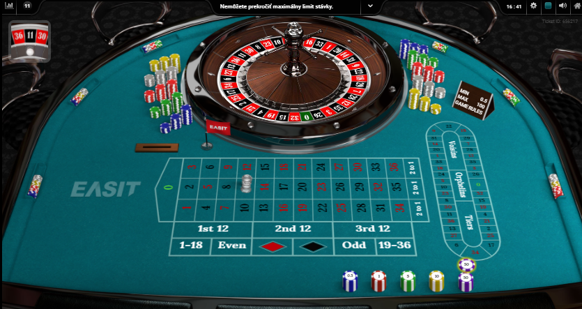 Roulette Diamonds výhry