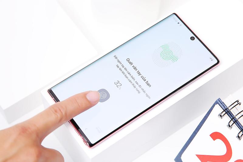Sửa lỗi cảm biến Samsung Note 10, note 10 Plus lấy ngay