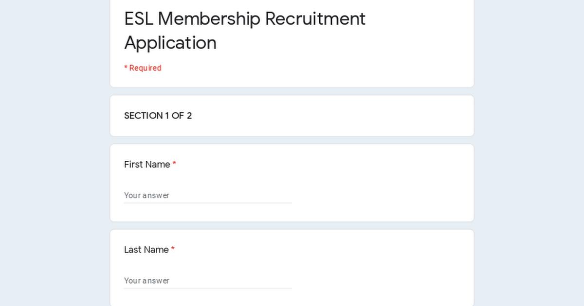 membership recruitment