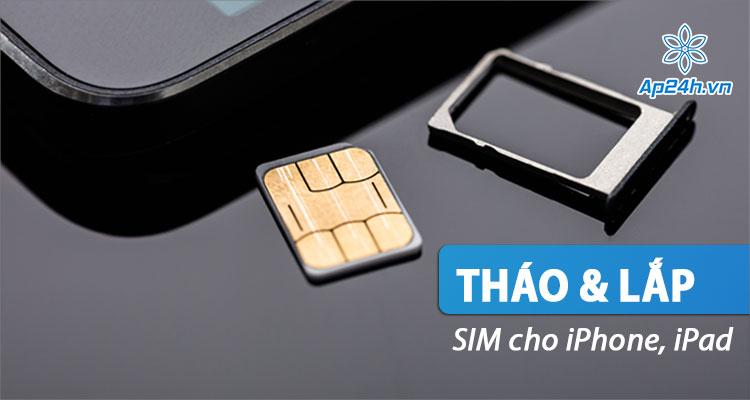 Chi tiết các thao tác tháo SIM iPhone và gắn lại
