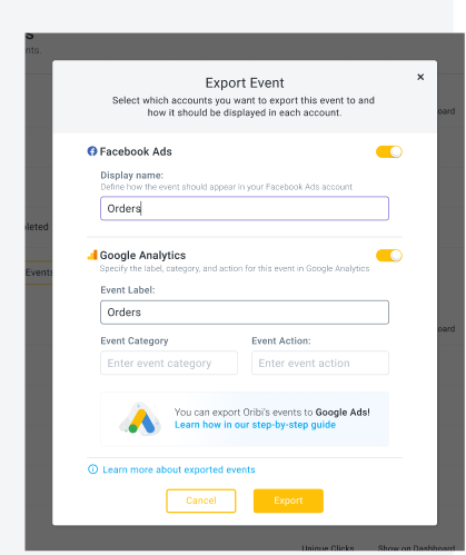 How to Use Events to Optimize Your Facebook And Google Ads 17
