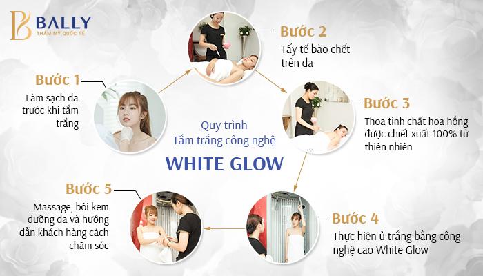 tắm trắng toà n thân-quy trình White-Glow