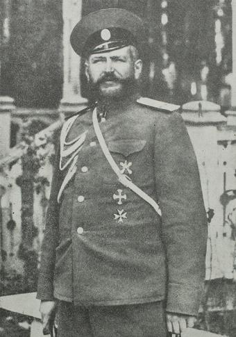 Один из руководителей Комитета «Добровпомощь» генерал-майор Ф. П. Рерберг