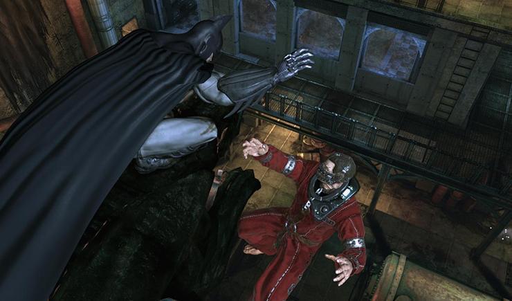 Hra Batman: Arkham Asylum.