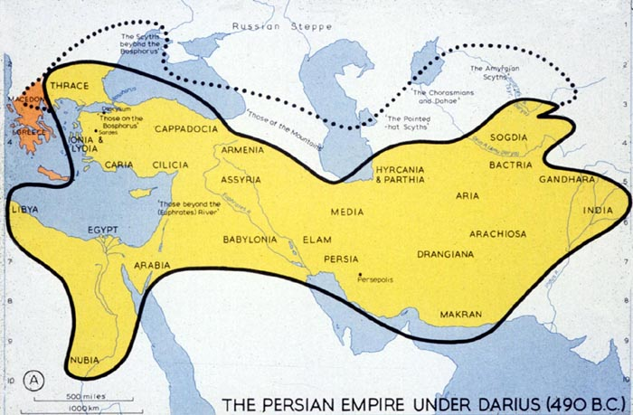 Persian Empire under Darius I