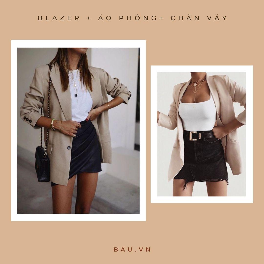 6 outfit kết hợp với blazer cho các nàng trở nên sang - xịn - mịn - ảnh 5