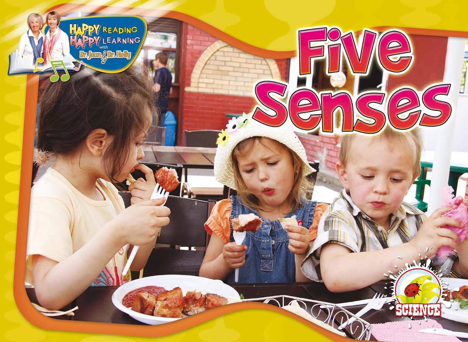 Happt Reading Happy Learning Five Senses Book