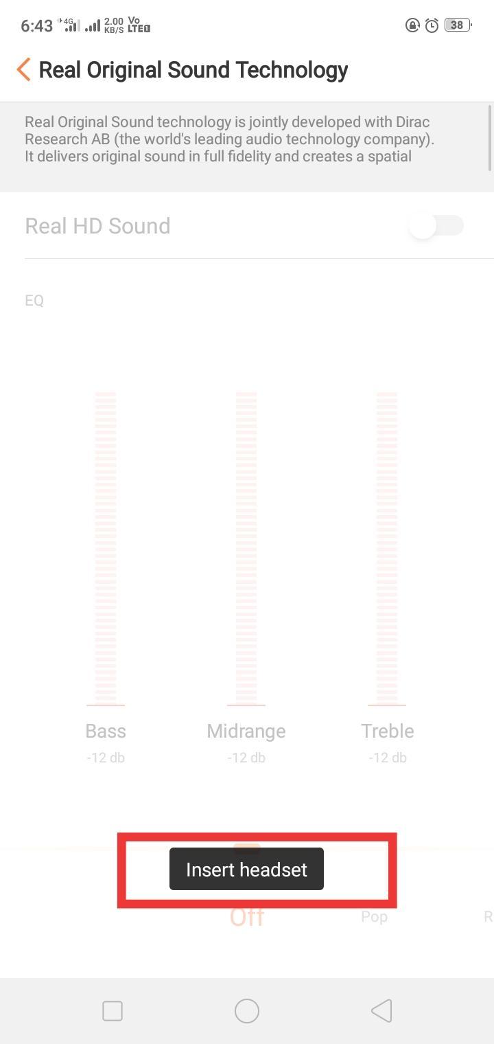 KnowYourColorOS] The Real Original Sound Technology - realme