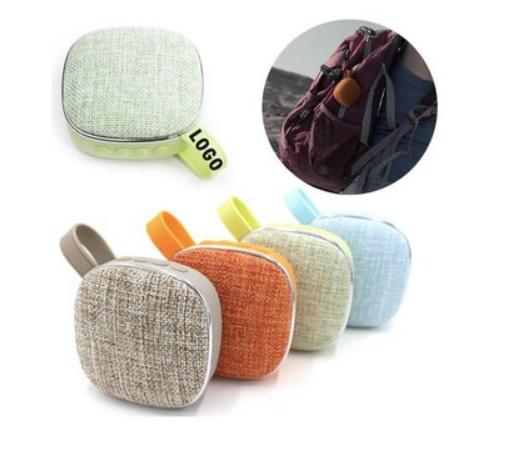 Square Fabric Wireless Bluetooth Speaker