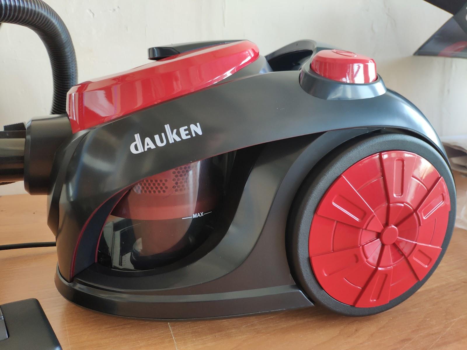 Пылесос с циклонным фильтром фирмы Dauken