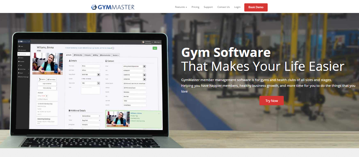 GymMaster - Gym and Club Management System