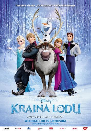Polski plakat filmu 'Kraina Lodu'