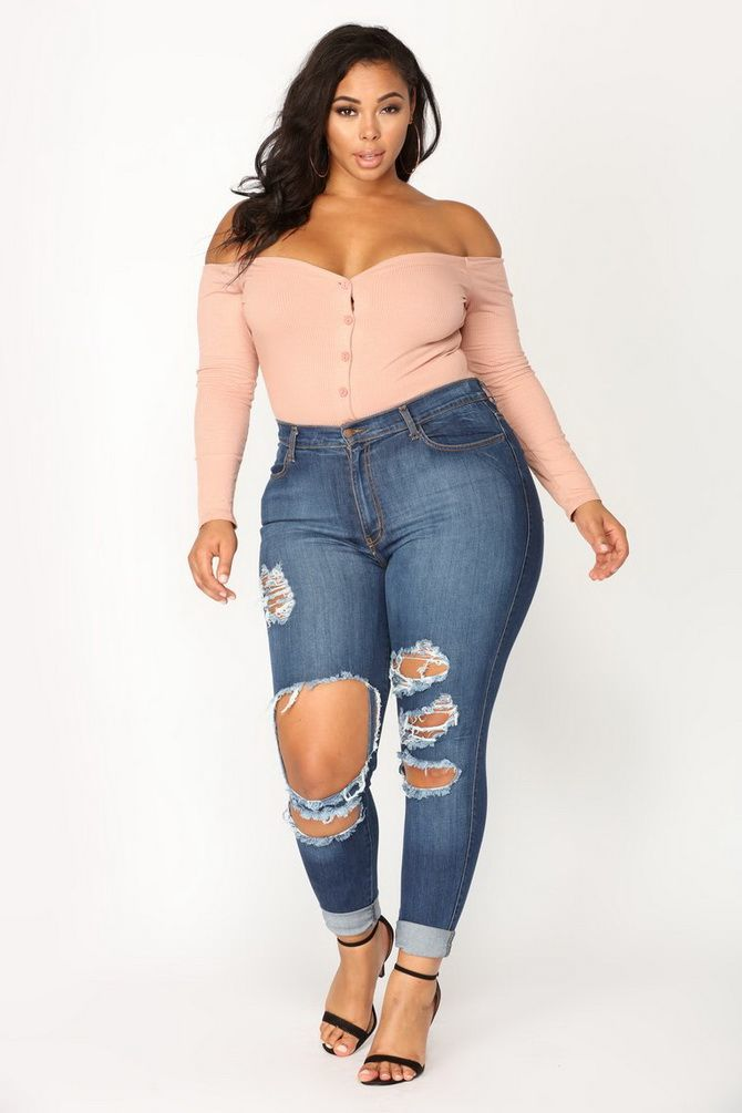 Plus-size fashion: best ideas for trendy outfits 2020 36