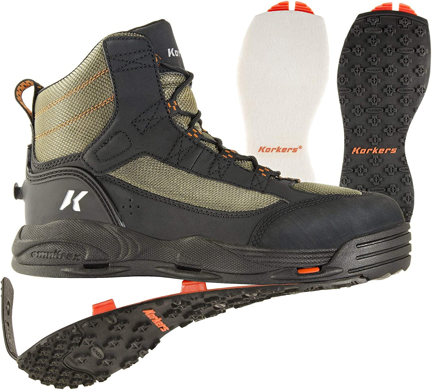 Korkers Greenback Wading Boots for fly fishing and wading review