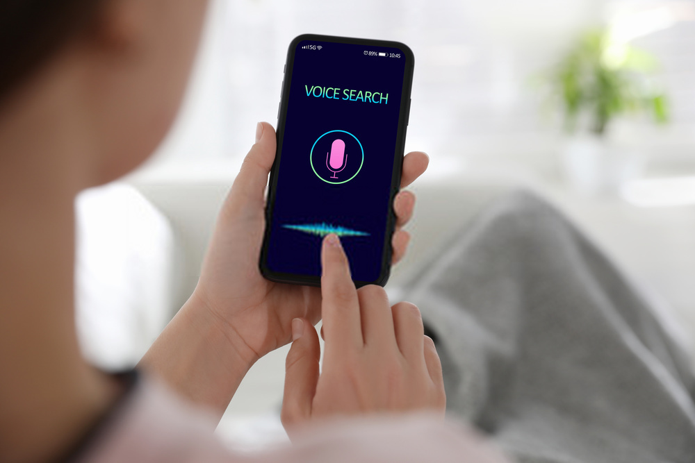 Ilustrasi Voice Search