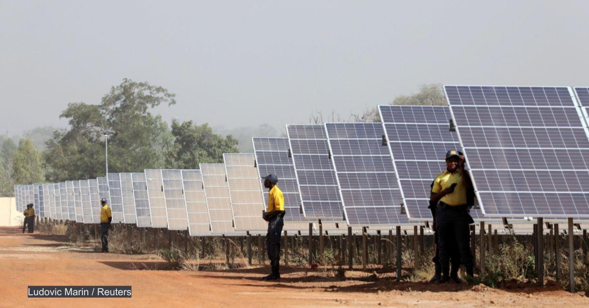 In Burkina Faso, solar in humanitarian settings is gaining ground