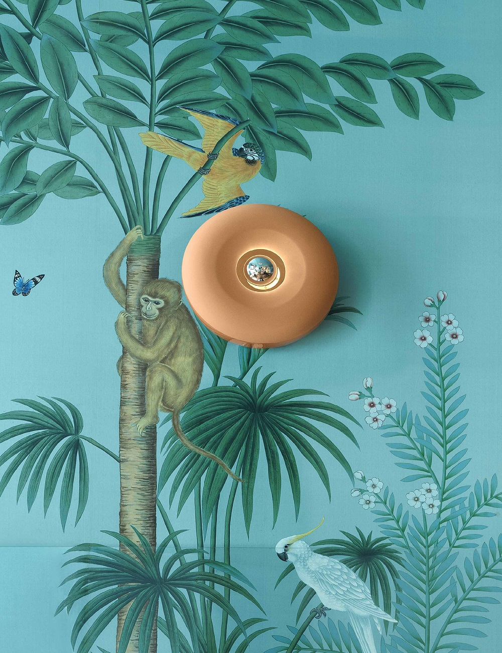 modello bellota ferroluce: la lampada da parete per la camera contemporanea