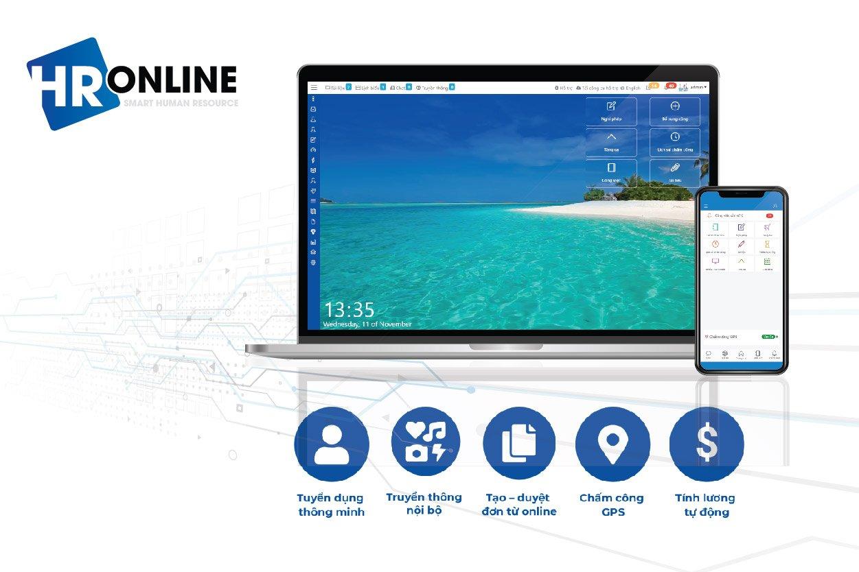 Phần mềm quản lý nhân sự HrOnline