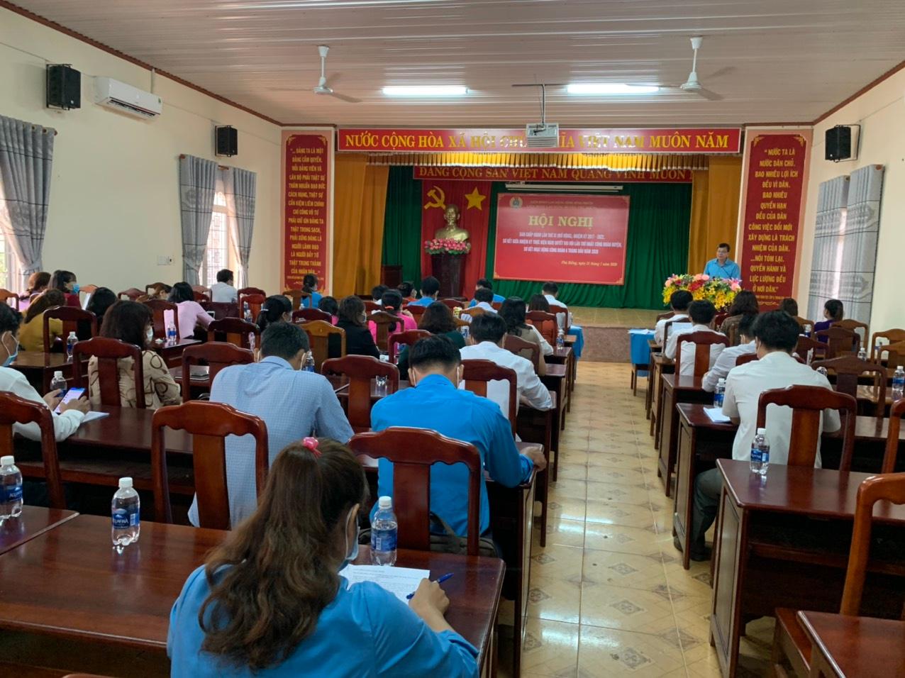 Liên đoàn Lao động huyện Phú Riềng tổ chức Hội nghị Ban Chấp hành (mở rộng) lần thứ 11