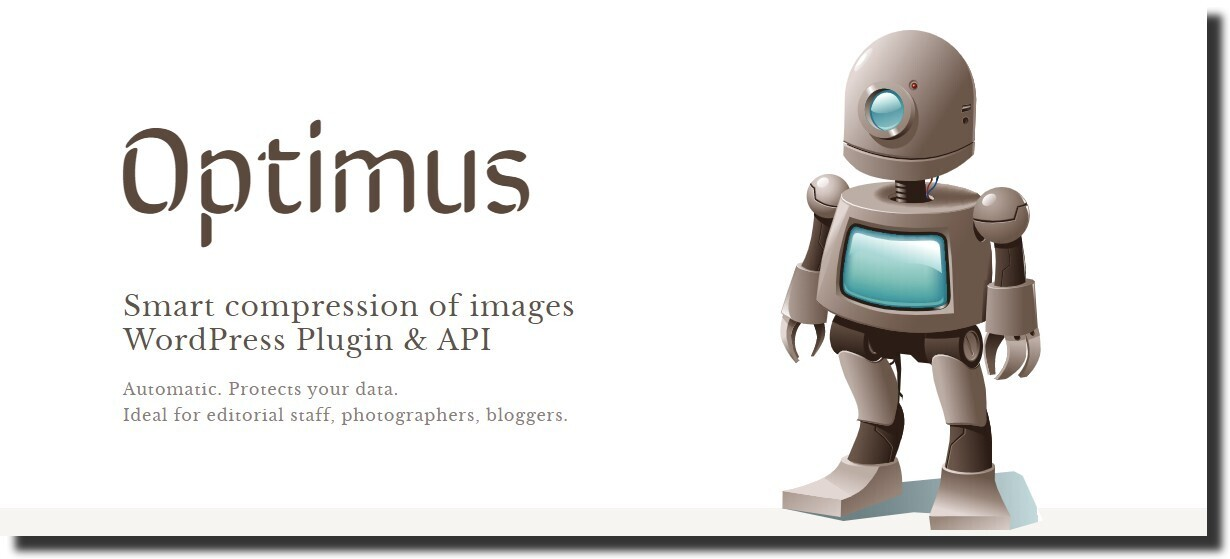 Optimus image optimization plugin best free wordpress plugins