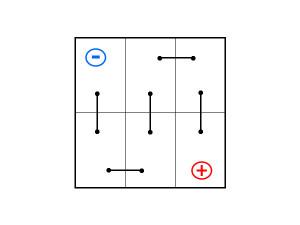 Диагональное расположение выводов