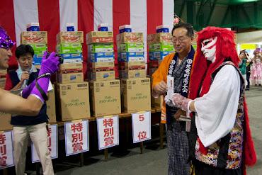 北竜町盆踊り大会2014・個人準優勝:カブキ(留萌市)
