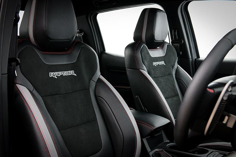 ดีไซน์ภายในรถยนต์ : Ford Ranger Raptor X
