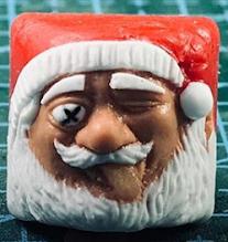 Goldenstar Keycap - Santa
