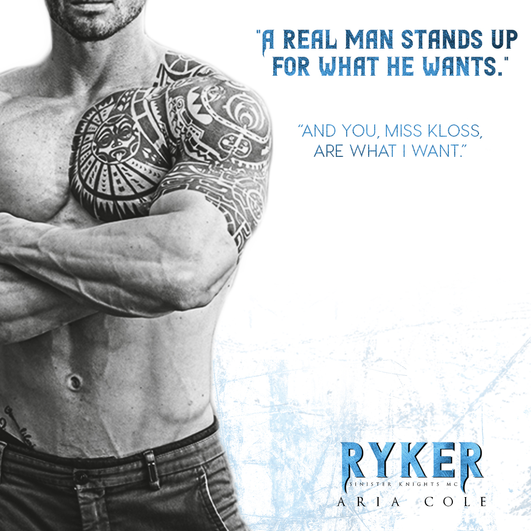 Ryker (Sinister Knights MC) by Aria Cole…Release Day Blitz with review