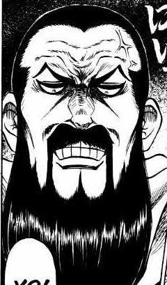 Gohei is Kihei's muscle man.