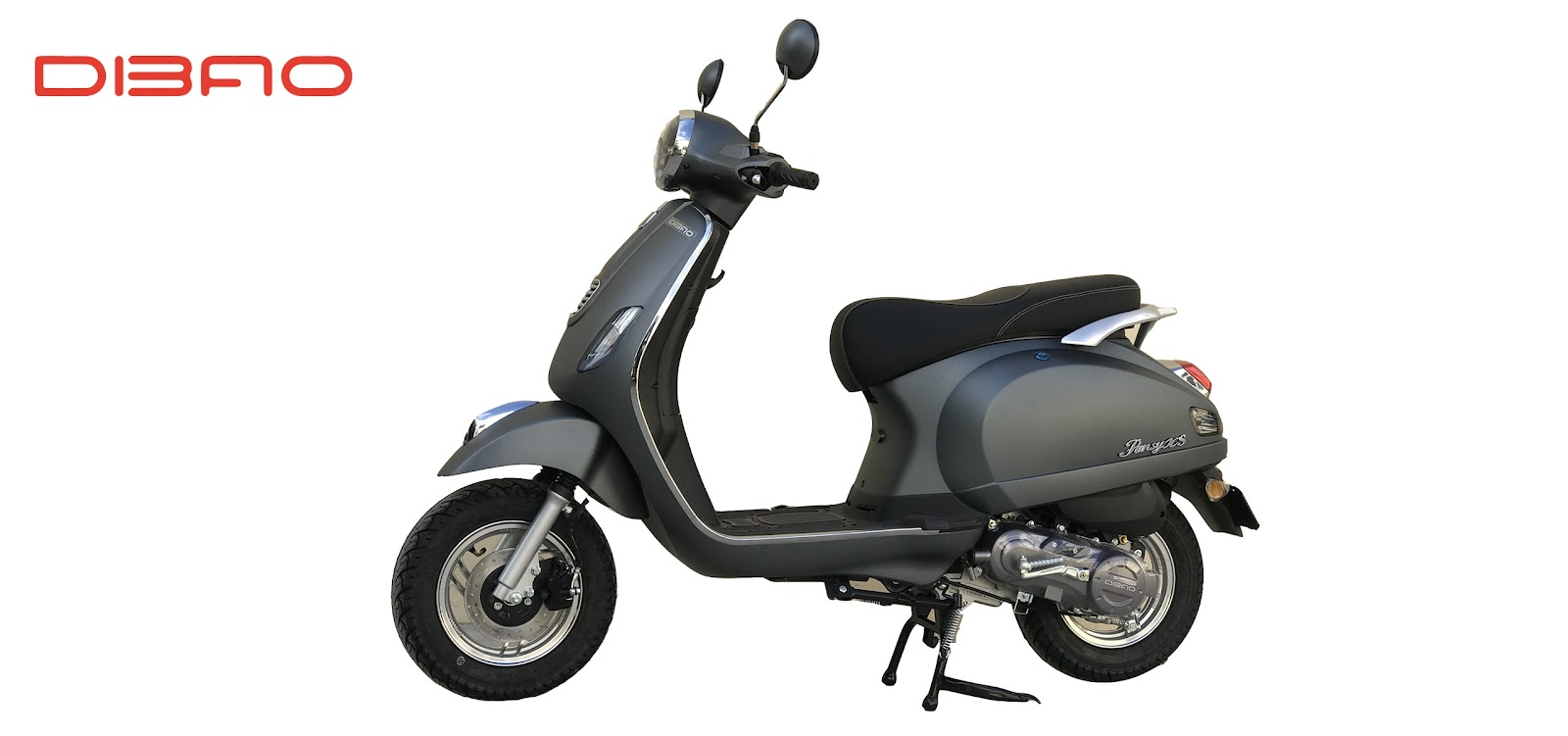 DIBAO Pansy XS xe tay ga 50cc có kiểu dáng hấp dẫn