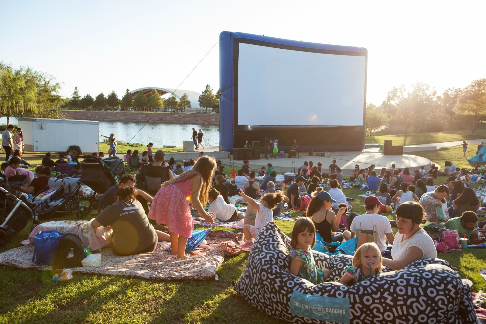 Mueller's Movies in Your Park | Mueller Lake Park