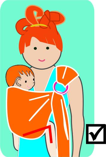 """Alt=Porteo y seguridad de los bebés"""""""