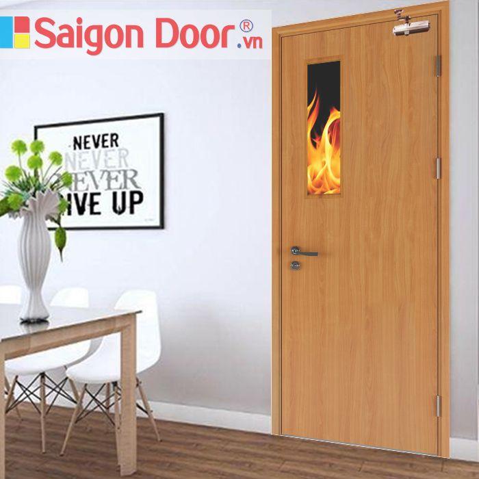 Báo giá cửa gỗ chống cháy