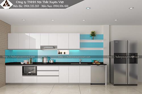 Tủ bếp Acrylic và những điều bạn cần quan tâm hình 2