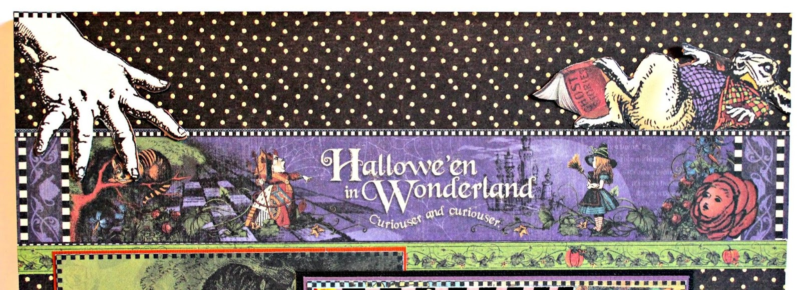 2017 G45 Brand Ambassadors- 2017 Pam Bray  - June 2017 - Halloween in Wonderland Layout - Photo 8_7498.JPG