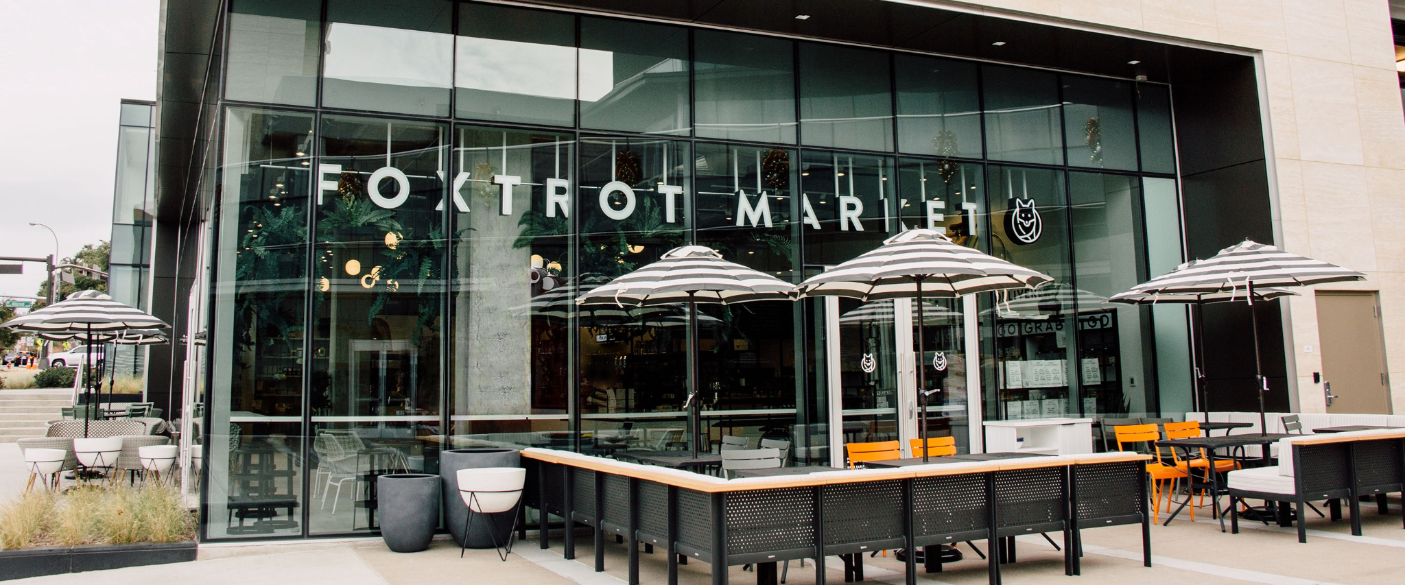 Foxtrot Market - three best places to study off-campus