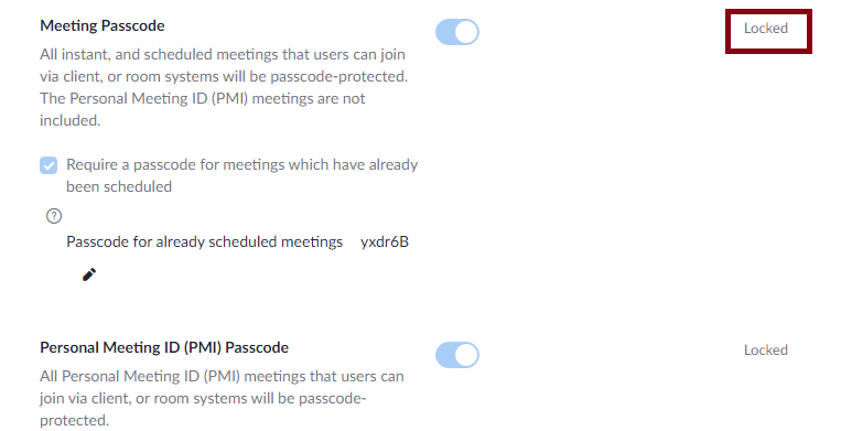 How to Enable Passcode in Zoom