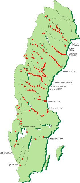 karta sveriges älvar Vattenkraften måste omvärderas! | SAVE THE BALTIC/SALMON karta sveriges älvar