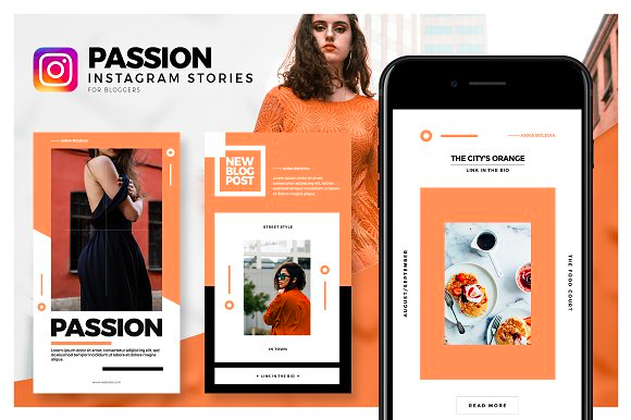Passion Instagram Stories Pack