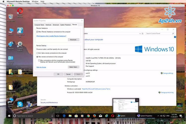 Cách chạy Windows trên MacBook hoàn toàn miễn phí